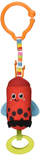 - Tiny Love Friend Wind Chime Clip on Toy, Ladybug
