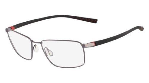 f6a857f698ae Nike Eyeglasses 4212 048 Gun/Blk Demo 55 17