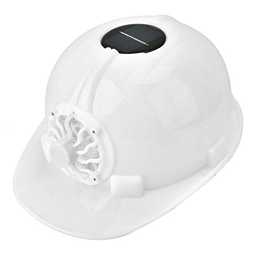 Solar Power Safety Helmet, Adjustable Breathable Construction Site Hard Hat Cap Personal Protective Equipment, Cooling…