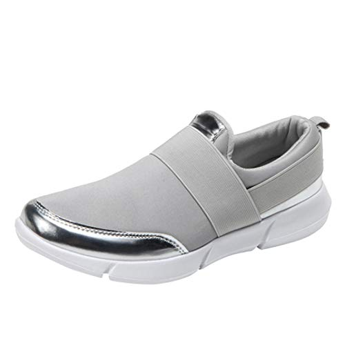 ual Loafers Breathable Flat Shoes Soft Running Shoes Gym Shoes GY ()