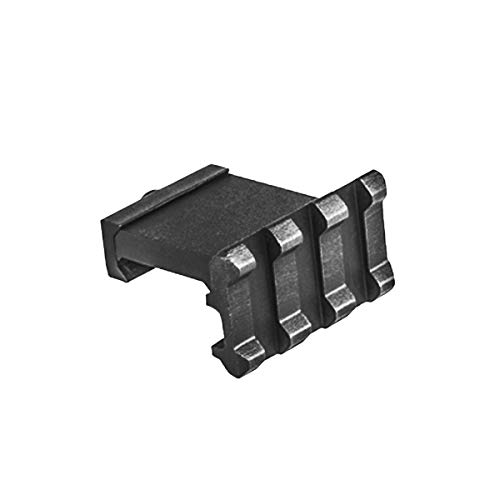 (Low Profile Tactical Picatinny/Weaver 90 Degree Angle Mount, 1.37