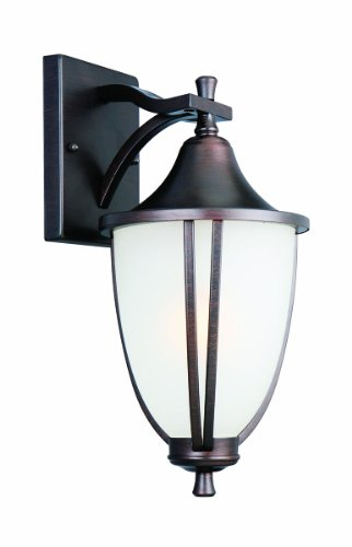 Cheap  Design House 517797 Ironwood 1 Light Indoor/Outdoor Wall Light, Brushed Bronze