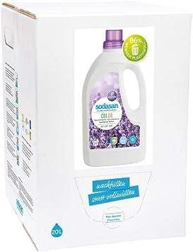 Sodasan - Detergente para ropa (20 L), color lavanda: Amazon.es ...