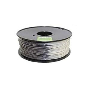 WOL 3D Flashforge PLA Color Change Filament, 1.75 mm (1 kg, Grey to White)
