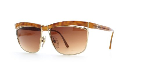 Christian Dior 2552 10 Brown Certified Vintage Rectangular Sunglasses For - Sunglasses 2014 Dior