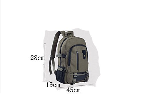 Leisure Outdoors purpose Travel Bag 3 Multi Business onesize Shoulder Laidaye Backpack Men q17xCqF