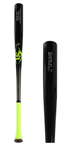 Louisville Slugger Y271 Youth Prime Maple Baseball Bat, Neon/Yellow, 29