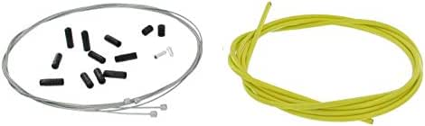 Alligator Bicycle Reliable Shift Housing /& Cable Set //// 4mm //// Yellow