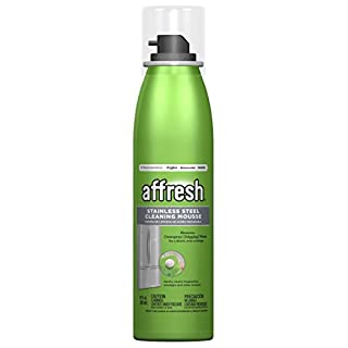 Affresh W11042466 Stainless Steel Cleaner, 10 oz. Mousse
