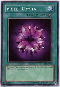 Crystal Eye Bunny (Yu-Gi-Oh! - Violet Crystal (LOB-042) - Legend of Blue Eyes White Dragon - Unlimited Edition - Common)