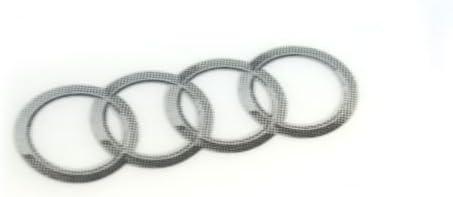 Audi 8r0060306 A Aufkleber Tuning Ringe Auto