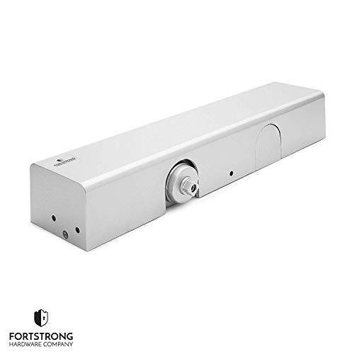 Commercial Door Closer FS-8400 - Heavy Duty Adjustable Grade 1 Standard  Automatic Door Closing Hinge - ADA Compliant UL & CUL UL10C Listed -  Aluminium