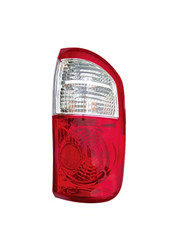 Fits 2000-2006 Toyota Tundra Rear Tail Light Passenger Side TO2801153 DOUBLE CAB; Std Bed; Clear/Red Lens - replaces 81550-0C040 ()