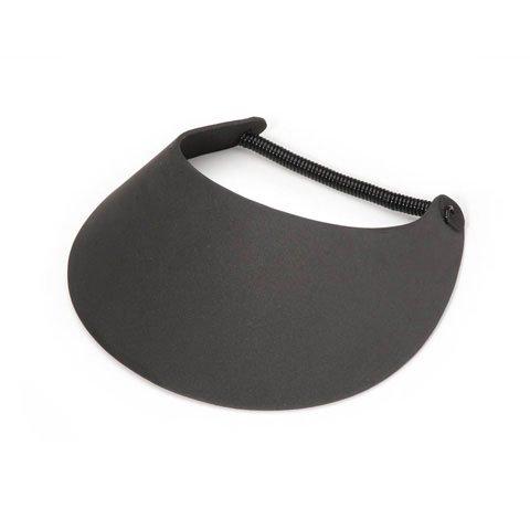 Bulk Buy: Darice Foamies Visor with Vinyl Coil Black (6-Pack) 1031-28