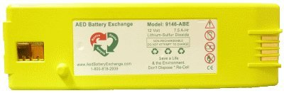 Replacement Battery for the Cardiac Science Powerheart G3...