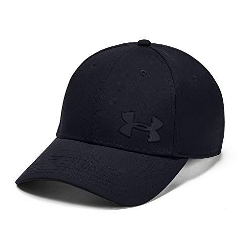 Under Armour Lightweight Hat - Under Armour Men's Headline 3.0 Cap, Black/Pitch Gray, Medium/Large