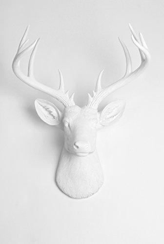 Templeton Sculpture White Faux Taxidermy
