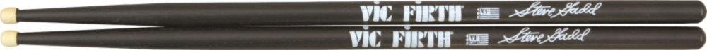 Vic Firth Signature Series Drumsticks Wood TIp Black Steve Gadd