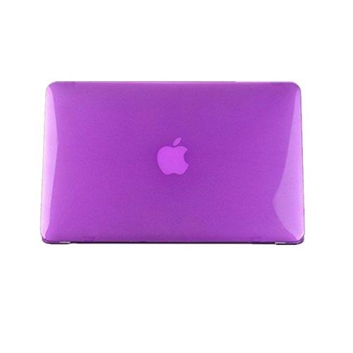 Moderner dŸnner harte Plastikabdeckung Crystal Case fŸr Apple MacBook Pro 15,4 Zoll schwarz