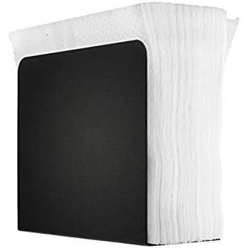 Matte Black Home Intuition Stud Collection Standing Napkin Holder