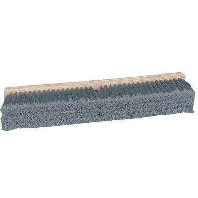 (Pro Line Brushes - Gray Flagged Polypropylene Floor Brushes Push Broom Gray Flagg D24