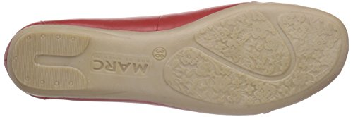 Marc Shoes Janine - Bailarinas Mujer Rojo - Rot (red 650)