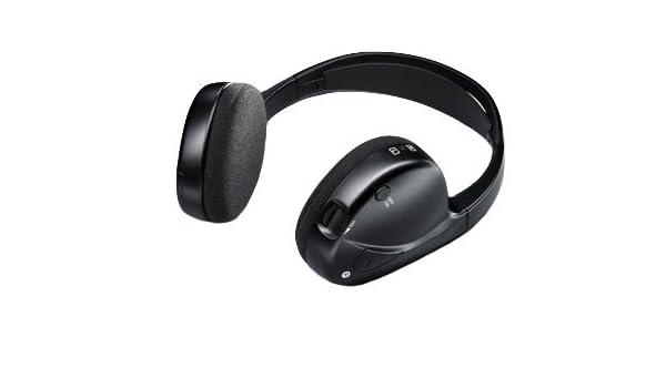 BMW genuino coche IR inalámbrico por infrarrojos auriculares estéreo con micrófono (65 12 2 160 494): Amazon.es: Coche y moto