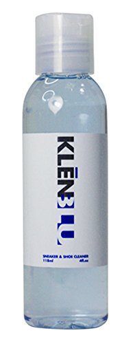 Premium Professional Sneaker Cleaner by KlenBlu - Liquid Shoe Cleaning Solution - Restore Whites, Leather, Suede, Canvas, Knit, Mesh, Rubber and Other Fabrics
