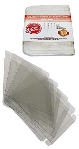 10 Mario Retro Nes Dust Proof Clear Plastic Cartridge for sale  Delivered anywhere in Canada