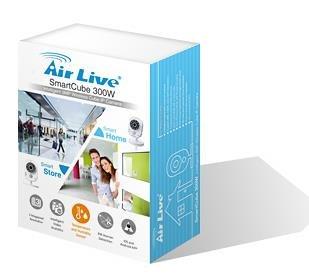 AirLive SmartCube 300W Cámara de seguridad IP Interior y exterior Cubo Blanco 2048 x 1536Pixeles: Amazon.es: Electrónica