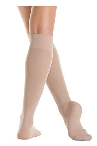 Mondor Skating Apparel - Mondor Junior Knee High Socks (Light Tan, AD (Adult))