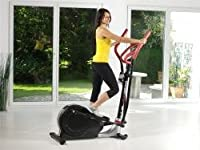 Royalbeach RBS Crosstrainer Ergo City 200 silber/schwarz/rot