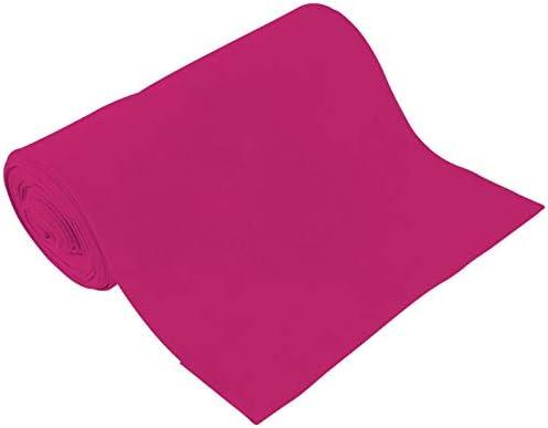 Bio Puños de 70 cm en Manguera lisa algodón Elastano Uni Monótono GOTS moderno rosa: Amazon.es: Hogar