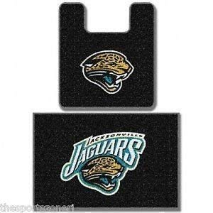 Jacksonville Jaguars Two Piece Bath Rug Set