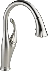 Delta 9192-SS-DST Addison Single Handle Pull-Down Kitchen Faucet, Stainless