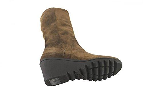 Chaussures Femmes KEYS Bottes Marron Daim AJ129