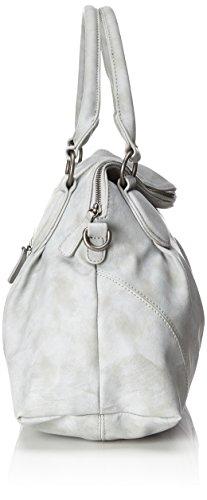 Fritzi aus Preussen Dalia - Shoppers y bolsos de hombro Mujer Gris (Metal)
