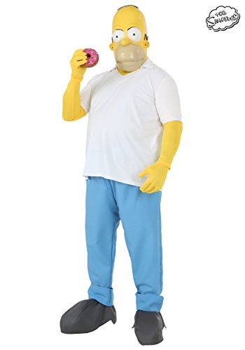 Fun Costumes Mens The Simpsons Homer Simpson Costume X-large