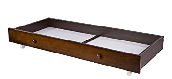 Dream On Me Trundle Storage Drawer For Standard Cribs, Espresso, Small  (Discontinued By