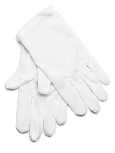 Theatrical Kids White Gloves (Gloves Theatrical Costume Accessory)