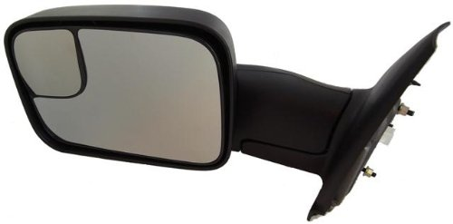 Discount Starter and Alternator 1744PL Dodge Ram Driver Side Replacement Mirror Power Heated Manual Folding W/Towing Package (2003 Dodge Ram Alternator compare prices)