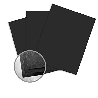 Astrobrights Eclipse Black Paper - 8 1/2 x 11 in 60 lb Text Smooth 30% Recycled 500 per Ream