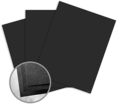 Neenah Astrobright Eclipse Black Card Stock 80 lb cover 100 pack