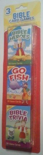 Bible Card Games: Bible Heroes, Go Fish, Bible Trivia