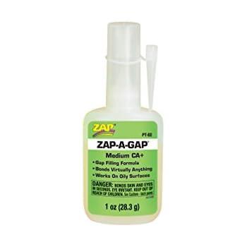 Pacer Technology (Zap) Pacer Technology (Zap) Zap-A-Gap Adhesives, 1 oz
