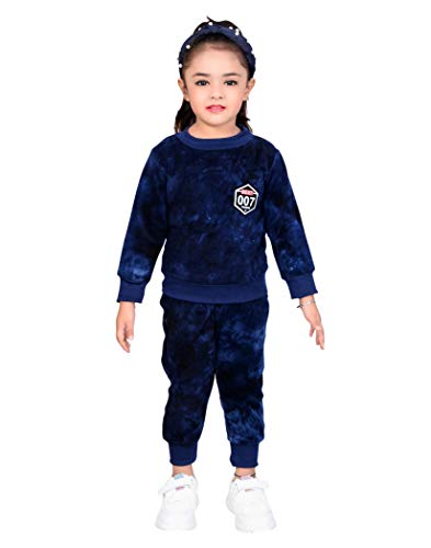 AHHAAAA Kids Winter Wear Clothing Set Top and Bottom for Baby Girls and Boys D11