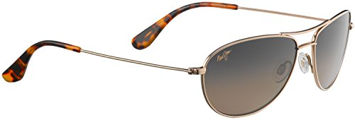 Maui Jim Baby Beach 245 Sunglasses, Gold, - Jim Baby Maui