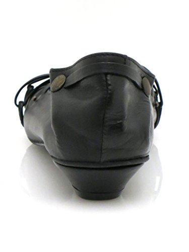 Chaussures Noir Lederballerinas Isabelle Femme Pour 6XXxR