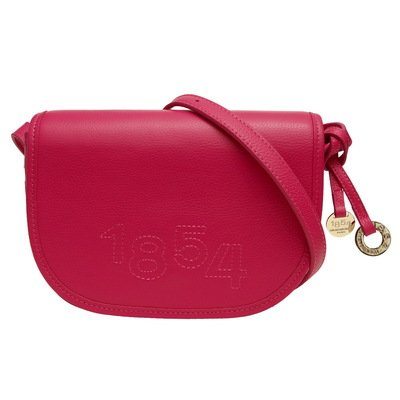 GRUNENBERGER Coachella - Besace - cuir - rose india
