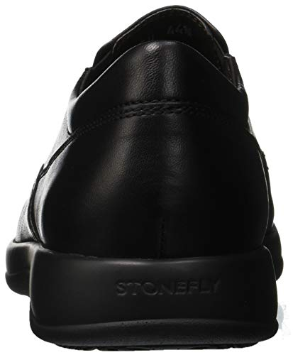 Stonefly 1 Black Noir Mokassins 000 Nappa Homme III Season rznwqxEr